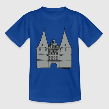 Holstentor Lübeck 2 - Kinder T-Shirt