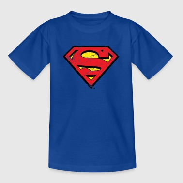 Superman Logo S-Shield vintage Snapback Cap - T-shirt barn