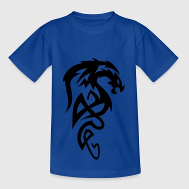 Tribal Dragon dragón tribal - Camiseta niño