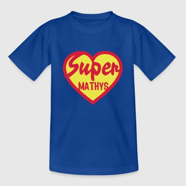 Mathys mathys super coeur heart love - T-shirt Enfant