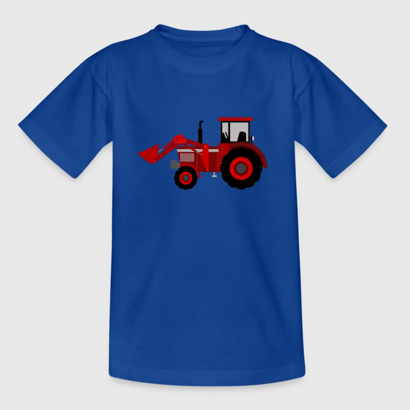 Red tractor - Kids' T-Shirt