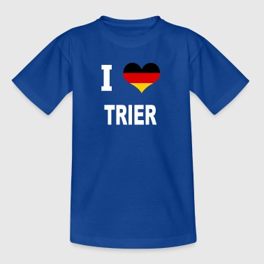 I Love Germany TRIER - Børne-T-shirt