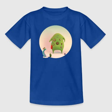 big monster and hugs - Kids' T-Shirt