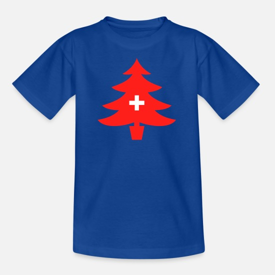 Collection T-Shirts - Swiss Spirit Collection - Kids' T-Shirt royal blue