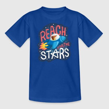 Reach for the stars - Kids' T-Shirt