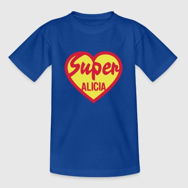 coeur heart super alicia - T-shirt Enfant