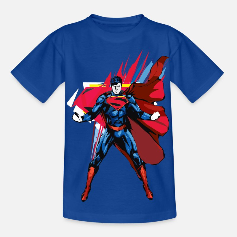 Superman T-shirts - Superman Power Pose T-shirt barn - T-shirt barn kungsblå