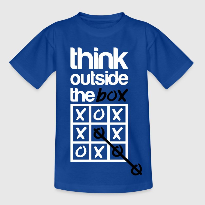 Think outside the box - Børne-T-shirt