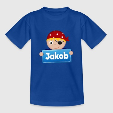 Petit Pirate Jakob - T-shirt Enfant