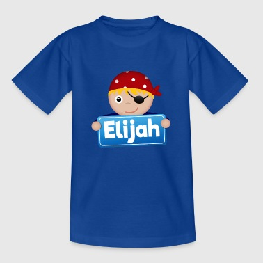 Little Pirate Elijah - Kids' T-Shirt