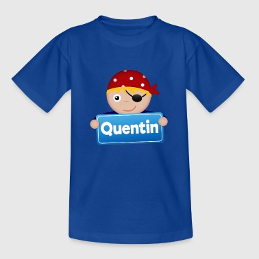 Petit Pirate Quentin - T-shirt Enfant