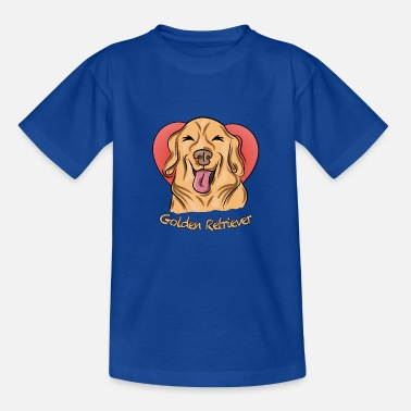 Golden retriever - Kids' T-Shirt