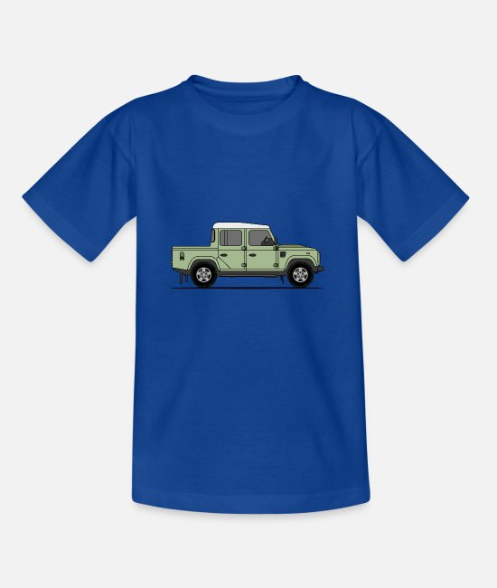 England T-Shirts - Defender Double Cab - Kids' T-Shirt royal blue