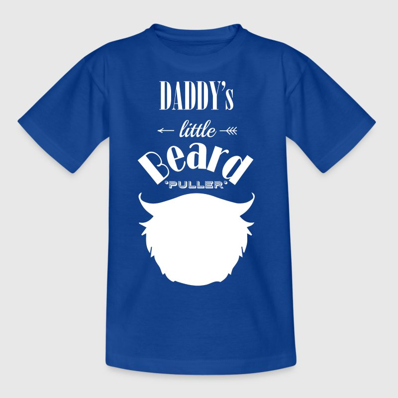 daddys little beard puller - Kids' T-Shirt