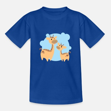 Kids Giraffen - Kinder T-Shirt