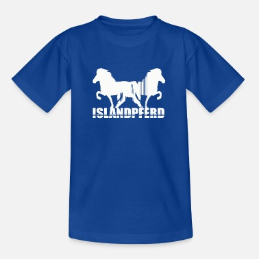 Pony Icelandic Horse: Islandpferd Pferd Pony Merch - Kinder T-Shirt