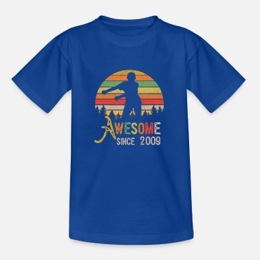 Since Vintage Flossing Awesome Depuis 2009 10 ans - T-shirt Enfant