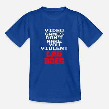 video games console gamer gaming gamers gamble - Kids' T-Shirt