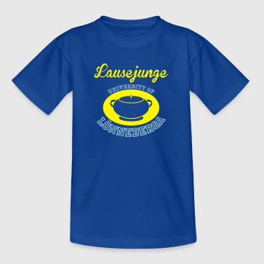 Lausejunge University - Kinder T-Shirt