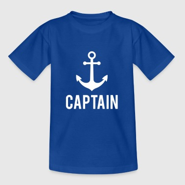Captain Anchor Captain Anchor - Kinder T-Shirt