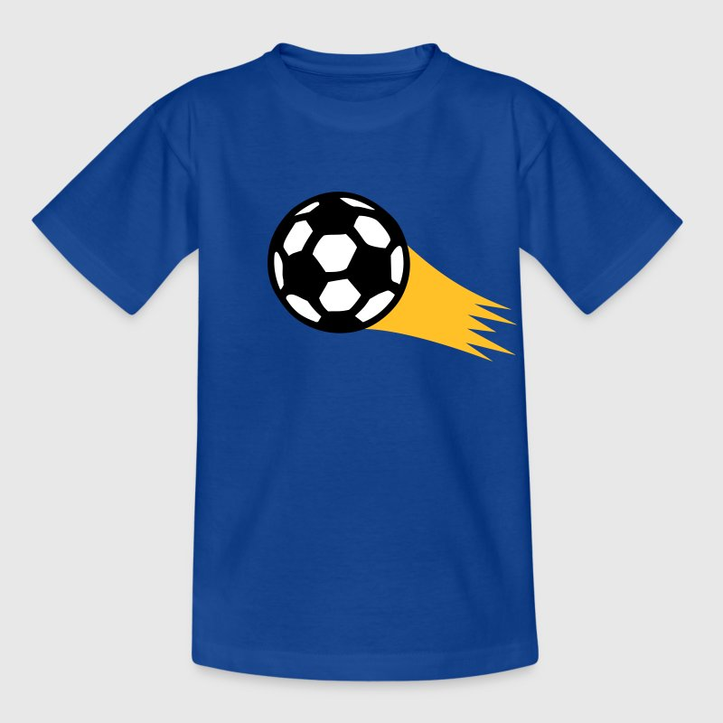 Feuer Fussball Fußball Held Fire Power Soccer Hero - Kinder T-Shirt