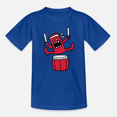 Drums Taiko Monster  Aprons - Kids' T-Shirt