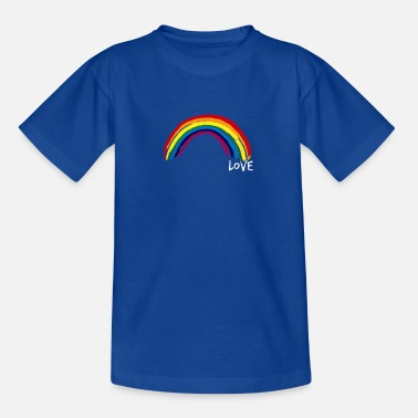 Love Rainbow - Regenbogen Liebe - Kinder T-Shirt