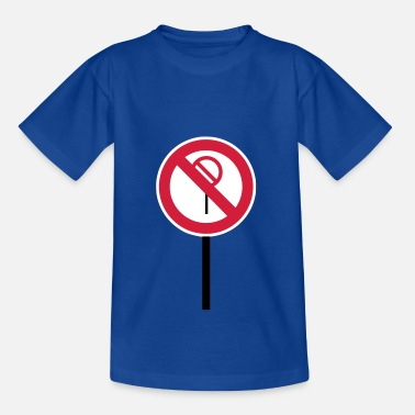 Sign Prohibitions prohibited - Kids' T-Shirt