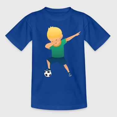 Soccer Boy Dab Dance - Kinder T-Shirt