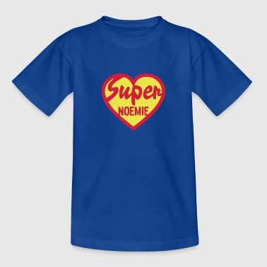 coeur heart super noemie - T-shirt Enfant