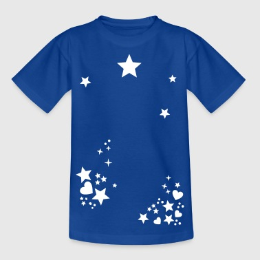Starry Sky Starry night sky star sun moon  - Kids' T-Shirt