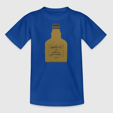 rock bottle - T-shirt Enfant