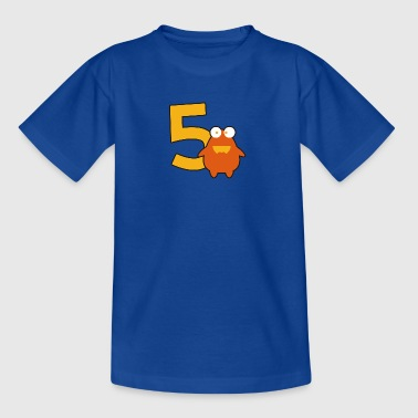 monster_5_dd - Kids' T-Shirt