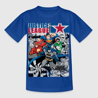 Justice League Comic Cover - Kinderen T-shirt