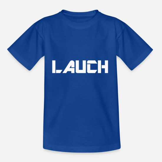 Outlaw T-Shirts - LAUCH WEAR - Kinder T-Shirt Royalblau