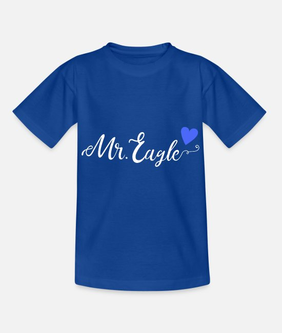 Mr T-Shirts - Mr. Eagle - Kids' T-Shirt royal blue