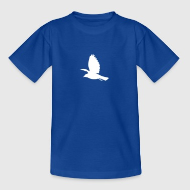 Amsel Silhouette - Kinder T-Shirt