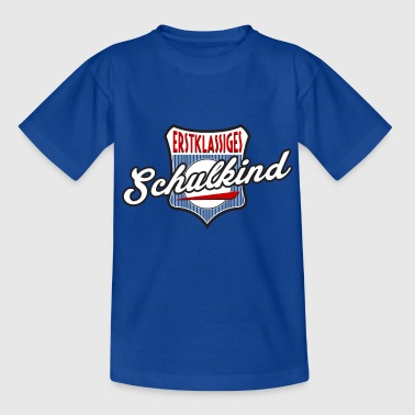 Erstklassiges Schulkind 1 - Kinder T-Shirt