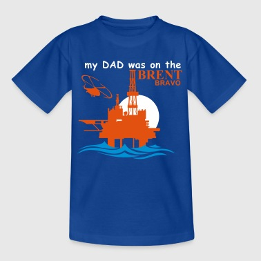 Brent Bravo Oil Rig Platform North Sea Aberdeen - Kids' T-Shirt