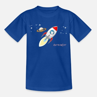 Space Astrocat - Kids' T-Shirt