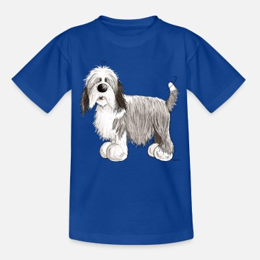 Bearded Collie The Bearded Collie - Kids' T-Shirt