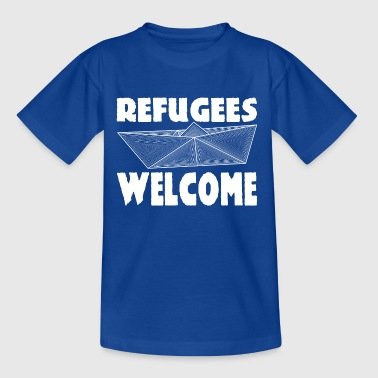 Refugees Welcome - T-shirt Enfant