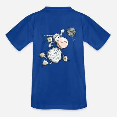 Beach Volleyball Funny Sports Sheep - Kids' T-Shirt