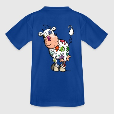 Colorful Cow - Kids' T-Shirt