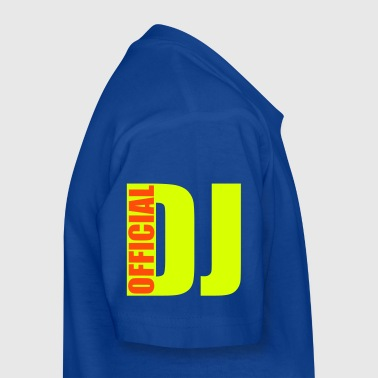 official DJ - Kids' T-Shirt