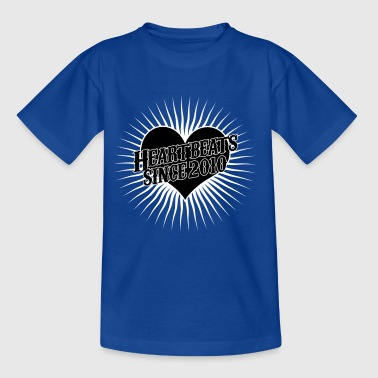 Heartbeats for the year 2010 - Kids' T-Shirt