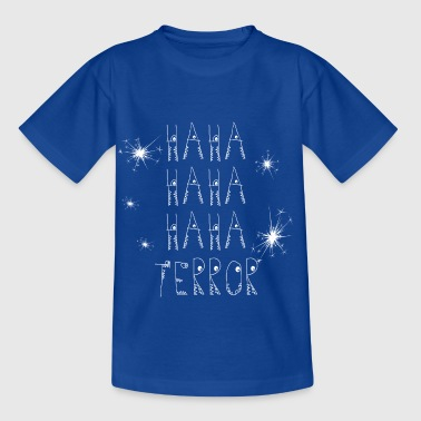 les parents Terrorkind rongent blanc - T-shirt Enfant