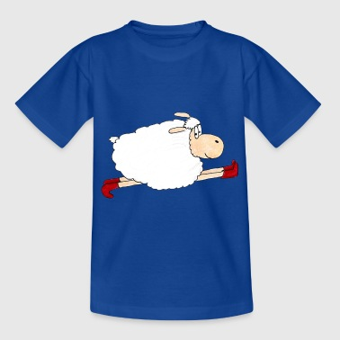 Sheep Isabell is running fast - Kids' T-Shirt