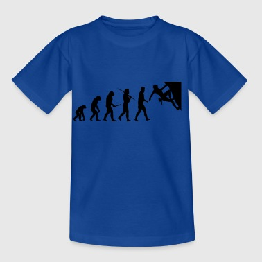 Evolution Climbing, climbing gift - Kids' T-Shirt