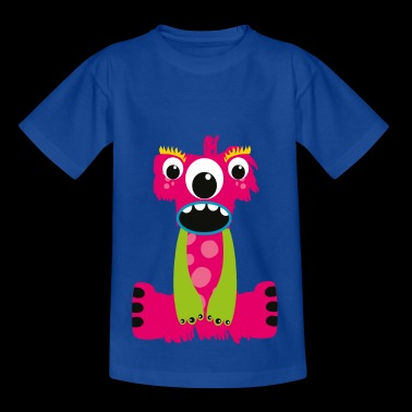 Pink letters Monster I - Kids' T-Shirt